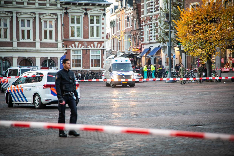 Het stadhuis in Haarlem werd woensdagmiddag kort ontruimd.