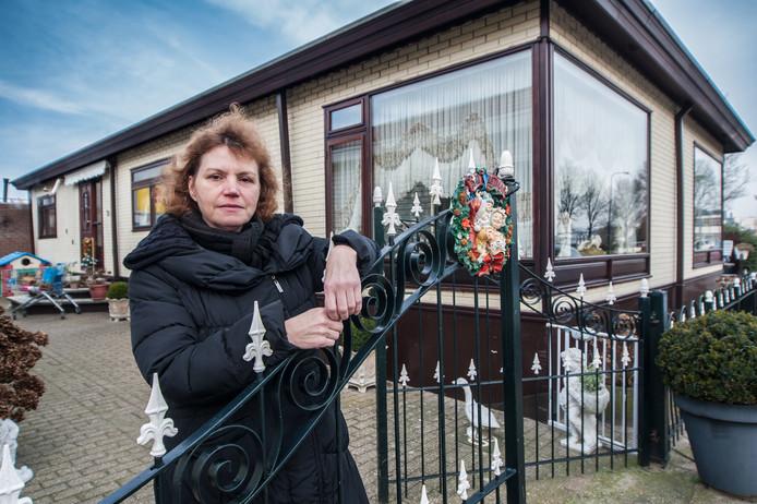 Nissy Gerlag, voorzitter van de eerste huurdersvereniging voor woonwagenbewoners .