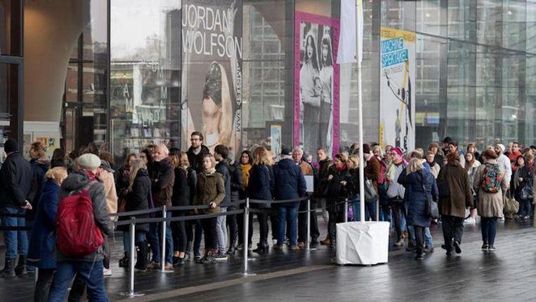 In het Stedelijk museum lopen momenteel drie populaire tentoonstellingen tegelijkertijd. Beeld ANP