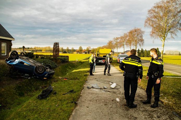Ongeluk op Hugterweg in Someren