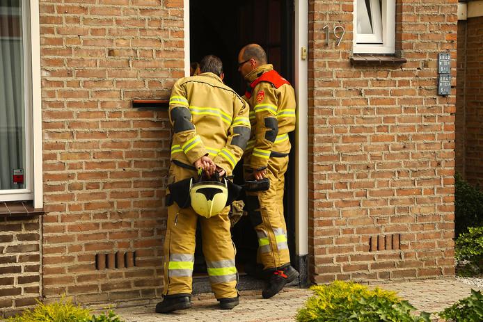 De brandweer in Oss rukte uit omdat een ouder echtpaar gas dacht te ruiken. Uit metingen kwam niets ongewoons naar voren.