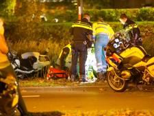 Motoragent gewond na aanrijding in Apeldoorn