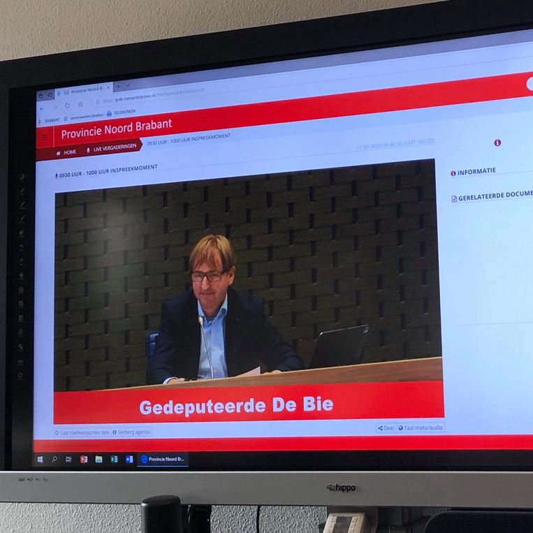 Forum-bestuurder. Beeld Toine Heijmans