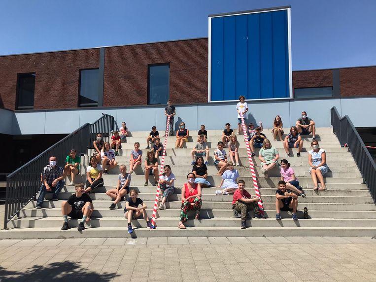De directie, leerkrachten en leerlingen van SBS Spoele zijn klaar om de kleuters en andere leerlingen van de lagere school volgende week weer te verwelkomen.