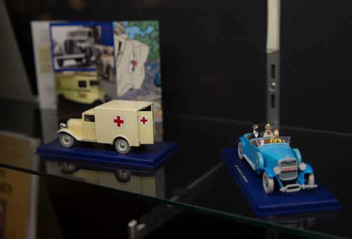 tk_Dgfoto_Plaats :Doetinchem-Kuifje-expositieGraag staande foto van de opening van Kuifje-expositie.