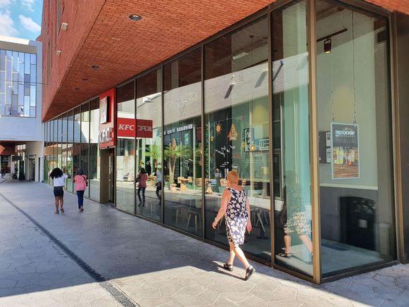 Het KFC-restaurant in Turnhout.