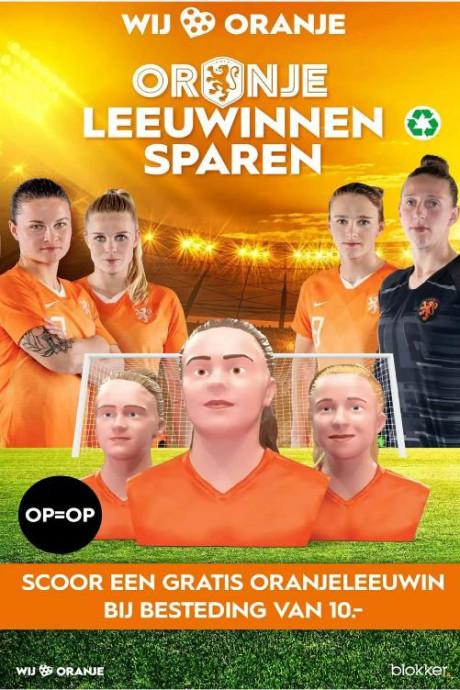 Oranje Leeuwinnen: spaar ze allemaal
