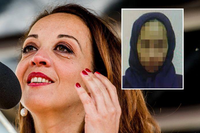 Een vorig jaar teruggekeerde Syriëgangster die het Openbaar Ministerie vervolgt, zou onder anderen columniste Ebru Umar hebben bedreigd op social media. Dat zei de aanklager donderdag voor de rechtbank in Rotterdam waar de eerste niet-inhoudelijke behandeling plaatsvond in de rechtszaak tegen verdachte Xaviera S. (26) uit Apeldoorn.