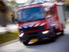 Woningbrand aan Wijkersloot tussen Cothen en Wijk bij Duurstede