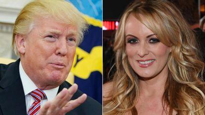 """""""Stormy Daniels heeft bewijzen van affaire met Trump"""" zegt advocaat, zwaaiend met dvd"""