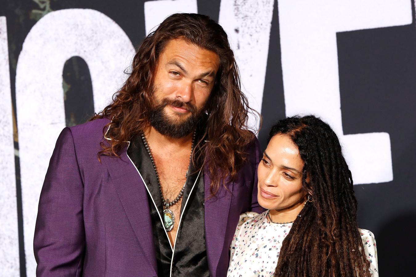 Jason Momoa en zijn vrouw Lisa Bonet.
