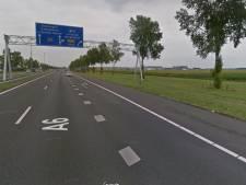 Hulpdiensten naar A6 bij Lelystad vanwege ongeval