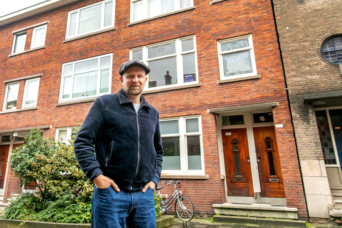 Danny Post maakte al veel overlast mee aan de Singel in Schiedam.