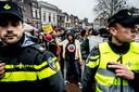 In 2014 in Gouda kwam het tot 90 arrestaties bij de intocht van Sinterklaas.