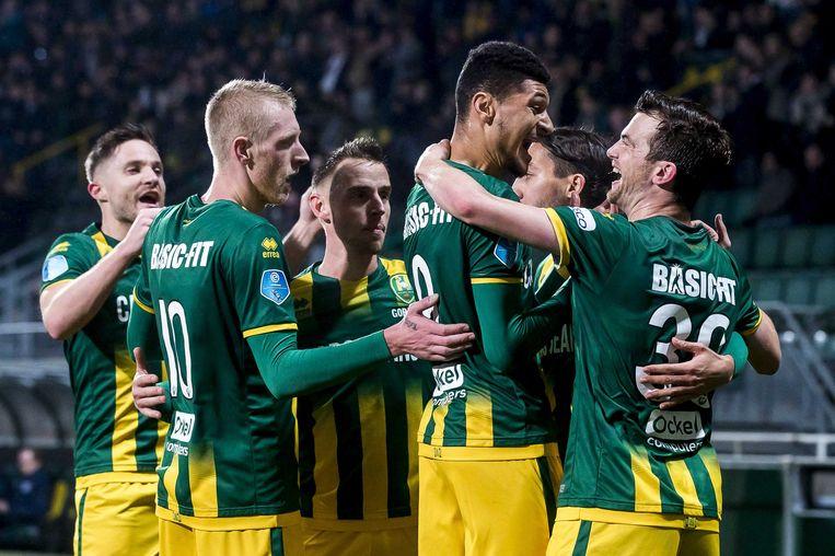 PEC Zwolle is de verrassing van het seizoen. Beeld ANP Pro Shots