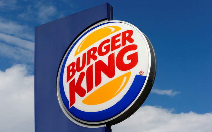 Logo van Burger King.