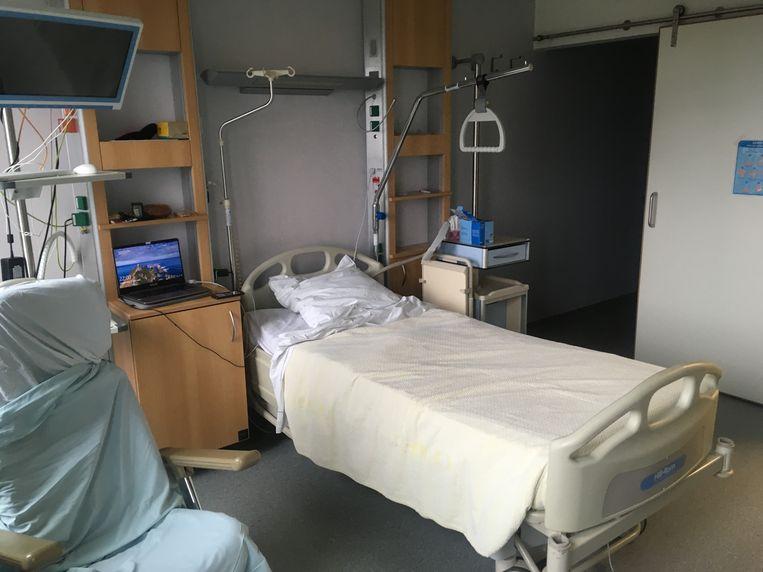 De kamer waar Leen Vervaeke in moet blijven. Beeld RV