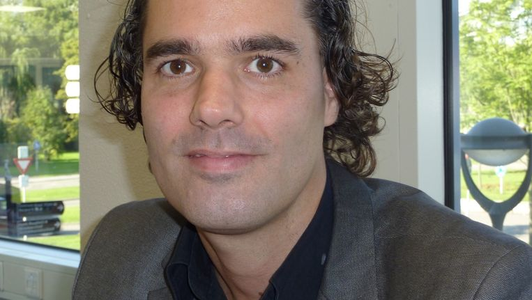 Laurens Ivens, wethouder Wonen in Amsterdam. Beeld FOTO LUUC OEVER