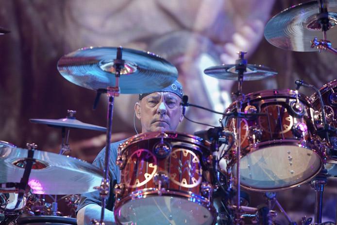 Drummer Neil Peart.