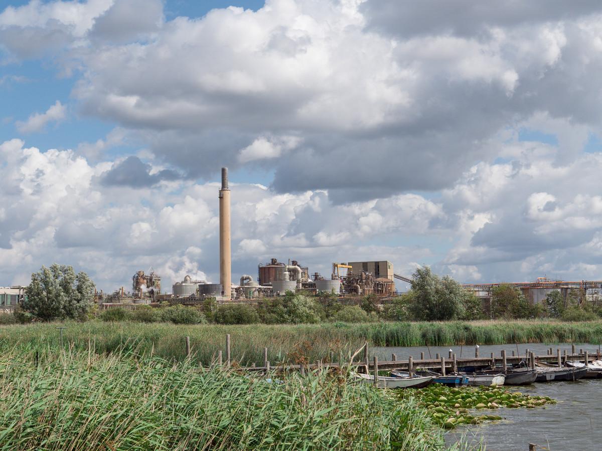 De fabriek van Nyrstar in Budel-Dorplein.