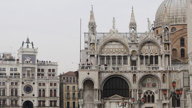 Stadsgezicht Venetië met de Basiliek van San Marco (Basilica di San Marco). Beeld anp