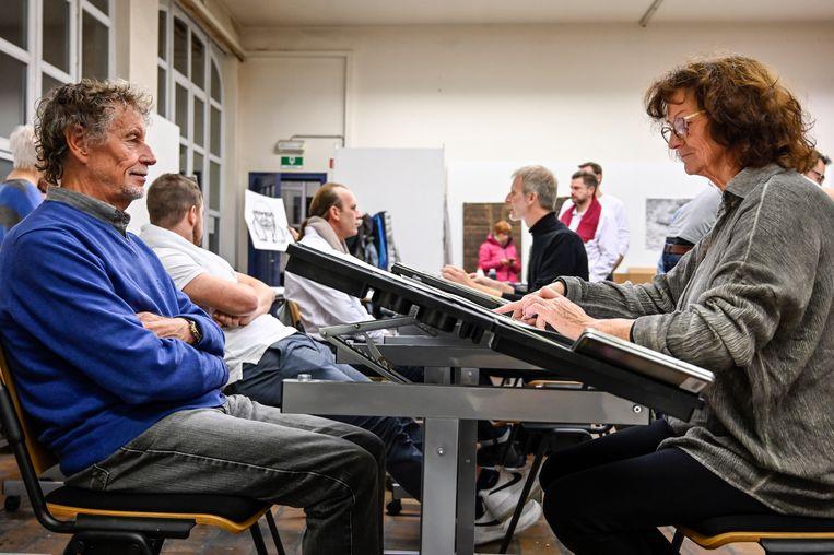 """Gustaaf Mannaert, deken van de Pijnders, is enthousiast over het project. """"Het komt ook onze teamspirit ten goede"""", zegt hij."""