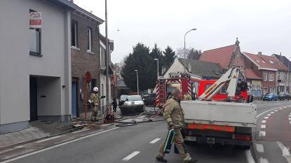 Zware rookontwikkeling bij brand in woning aan Oude Bruglaan