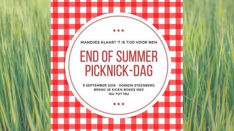 end of summer picknick