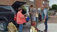 Bewoners vertrekken naar vrienden en net dan breekt brand uit: huis onbewoonbaar