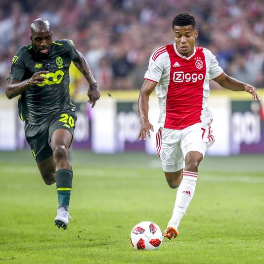 Is David Neres fit genoeg om te starten?
