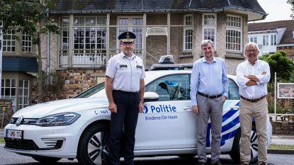 Politie Bredene/De Haan neemt eerste elektrische wagen in gebruik