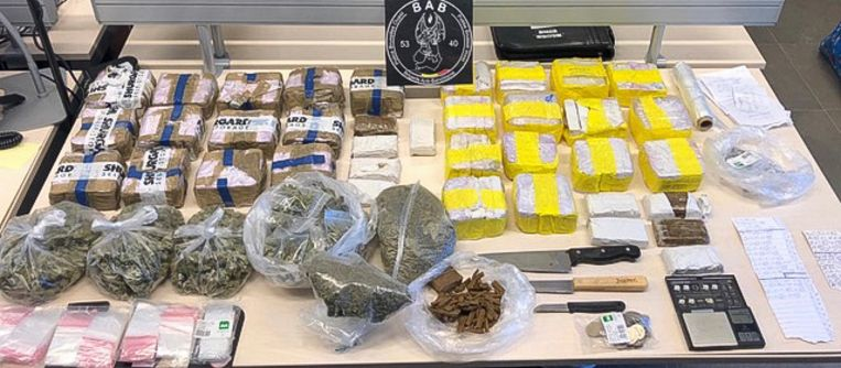 Lokale politie Brussel-West rolt drugshandel op.