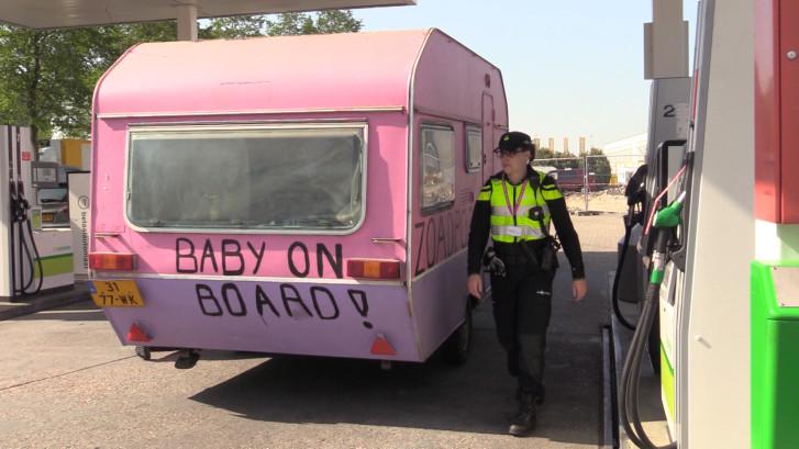 Grote controle op caravans na Paaspop: 'Die zijn een gevaar op de weg'
