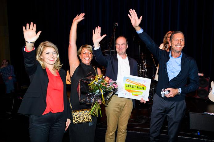 De High Five Foundation heeft de Vrijwilligersprijs 2017 gewonnen.
