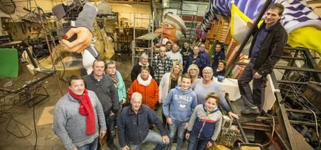 Vennemuskes verkassen naar pand op Jufferbeek Oldenzaal