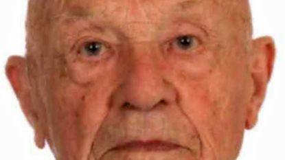 Vermiste man (95) dood teruggevonden in gracht