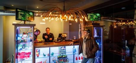 Te veel hennep en hasj bij Coffeeshop Alien in Steenwijk