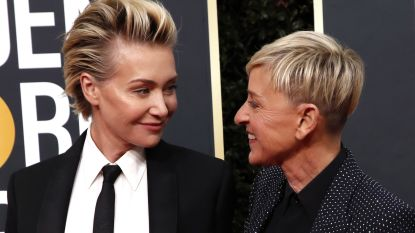 """Ellen DeGeneres krijgt steun van haar echtgenote: """"Ik sta achter haar"""""""