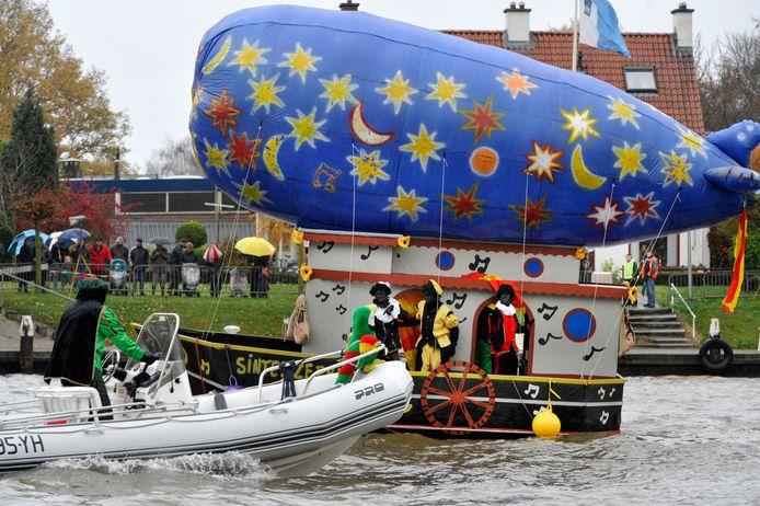 Dit jaar geen groot ontvangst van Sinterklaas en de Goorse Waterpieten.
