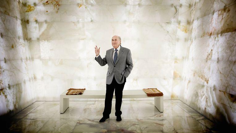 Sepp Blatter. Beeld Daniel Rosenthal