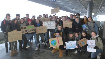 Meer dan tweehonderd Deinse leerlingen naar klimaatmars