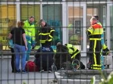 Kind zit met voet vast in fiets in Waalwijk