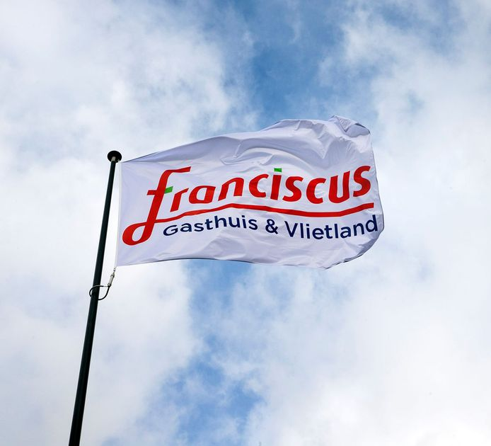 Vlag van Franciscus Gasthuis & Vlietland.