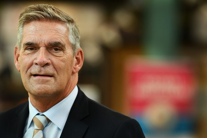 Doorn Burgemeester Naafs burgemeester van Utrechtse Heuvelrug.Foto William Hoogteyling