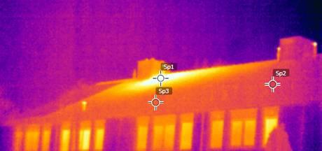 Warmtebeelden nekken hennepkwekerij op zolder in Heesch