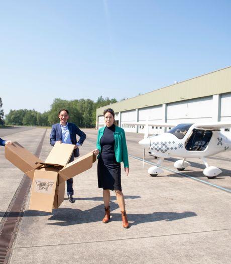 Zo wordt in Twente gewerkt aan 's wereld eerste onbemande hulpvliegtuig