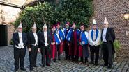 Narren Universiteit Limburg krijgt Bronsgroene Leeuw