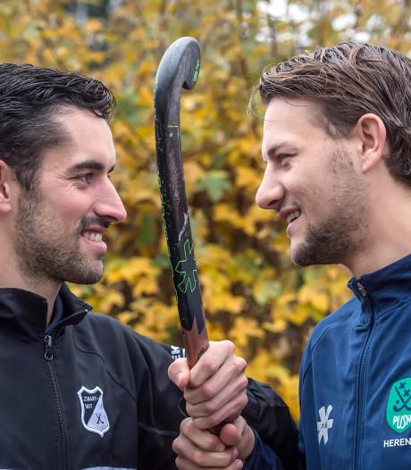 Broers Bantje tegenover elkaar in Bredase hockeyderby: 'Natuurlijk houden we niet in'