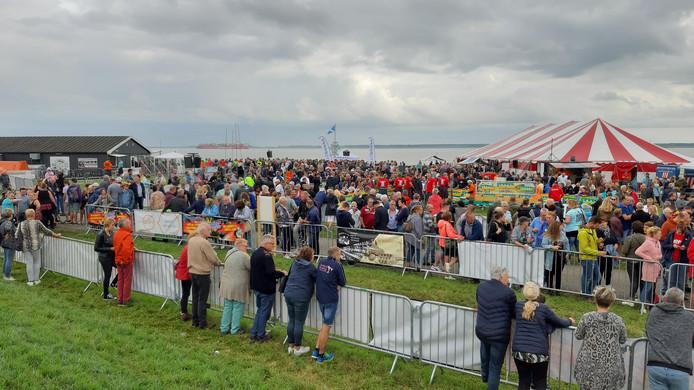 De organisatie van de Highland Games by the Sea heeft  over belangstelling niks te klagen.