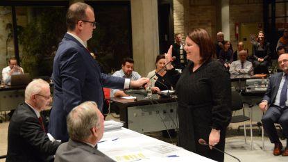 Veerle Vincke zit eerste gemeenteraad voor